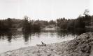 nurkowanie. Jezioro Przełęg 1989